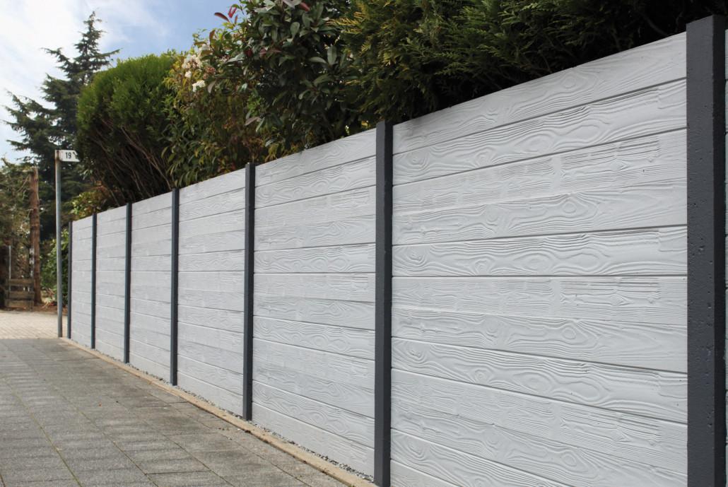 Betonzäune betonzaun motiv prestige betonzaunelemente